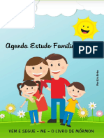 Agenda de Estudo Familiar 2020 - Cris Brito