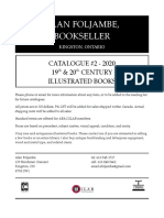 Alan Foljambe, Bookseller - 2020 catalogue