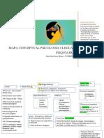 Mapa conceptual psicolgia clinica