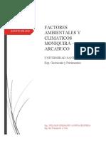 ESTIMACIÒN DE FACTOR CLIMA