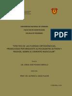 EFECTOS DE LAS FUERZAS ORTODÓNCICAS, PRODUCIDAS POR BRACKETS AUTOLIGANTES ACTIVOS Y PASIVOS SOBRE EL CEMENTO RADICULAR.pdf