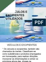 04 - Veículos e Excipientes Homeopáticos