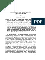 EL INMANENTISMO Y LA TEOLOGIA CONTEMPORANEA - MIGUEL PORADOWSKI