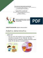 ACTIVIDAD DE CASTELLANO # 6