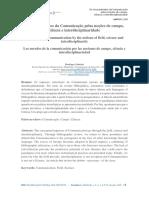 Os emaranhados da Comunicação pelas noções de campo, ciência e interdisciplinaridade