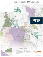 Preliminary map of parcels of land proposed for lease by the BLM