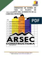 TABLA DE CONTENIDO Y SEPARADORES