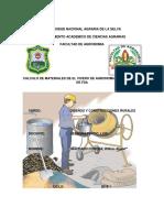 trabajo de diseños y construcciones calculo de materiales PDF.pdf