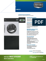 Maytag MDG78PN Specifications