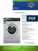 Maytag MFR40 -MFR50PD Specifications
