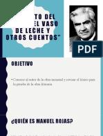 EL VASO DE LECHE AUTOR Y LÉXICO