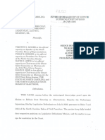 PI Order Holmes v Moore Case