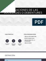 Obligaciones de las sociedades o debentures - Preliminar.pptx