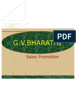 Sales Promotion BHARATHI