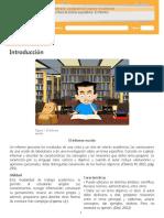 Escritura de Textos Expositivos - El Informe