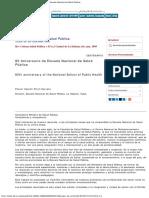 Revista Cubana de Salud Pública - 80 Aniversario de Escuela Nacional de Salu.pdf