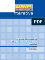 Tópicos Especiais de programação Unip unid_1