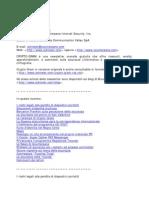 informazioni sulla sicurezza digitale e documenti