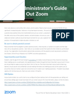 School Administrators Guide to Rolling Out Zoom