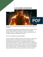 ARMAS DE GUERRA E INTERCESION ANTORCHA