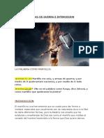 ARMAS DE GUERRA E INTERCESION (Martillo)