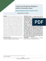 Hidrogeomorologia de Roraima Geologia Vol 9_Thiago