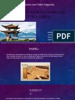 aportes sobre la cultura chiNA