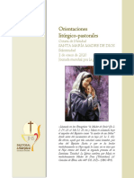 Santa María Madre de Dios 2020