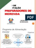 CAPACITAÇÃO MERENDEIRAS - 2019