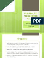 FORMAÇÃO MERENDEIRAS 2019 INFORMAÇÕES