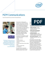 The Opportunity of M2M Communications