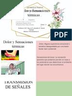 Dolor y sensaciones termicas