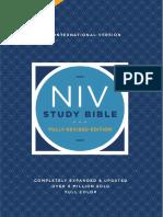 NIV Study Bible, Fully Revised Edition Sampler