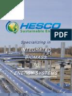 HESCO BIOMASS SYSTEM