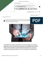 Exención de IVA en exportación de servicios.pdf