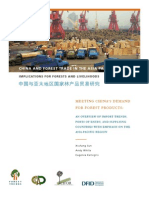 CHINA AND FOREST TRADE IN THE ASIA-PACIFIC REGION
