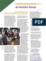 GBV in post-election Kenya
