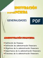 1. Administración Financiera
