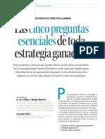 Procter & Gamble - Las cinco preguntas esenciales de toda estrategia ganadora.pdf