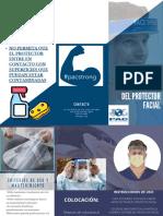 cuidado y mantenimiento del protector facial