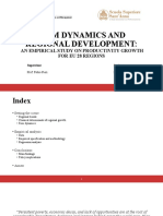 Firm Dynamics and Regional Development