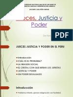 Jueces, Justicia y Poder PPT en PDF