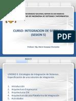 Integracion de Sistemas   sesion 5  virtual  07-07-2020 version 1.0