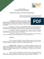 Resolucao CEE CP 152020 REANP