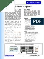 Waveform-Amplifier