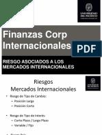 Sesion 3.2. Riesgos Asociados a los Mercados Internacionales