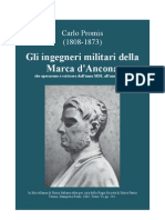 PROMIS Carlo. Nine Italian military engineers from Ancona, 1550-1650. Turin 1865