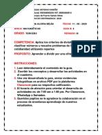 4. PLAN DE CONTINGENCIA MATEMATICAS 3 PERIODO