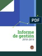 Informe GestionPresidencia2018-2019