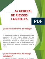 RIESGOS LABORALES PRESENTACION